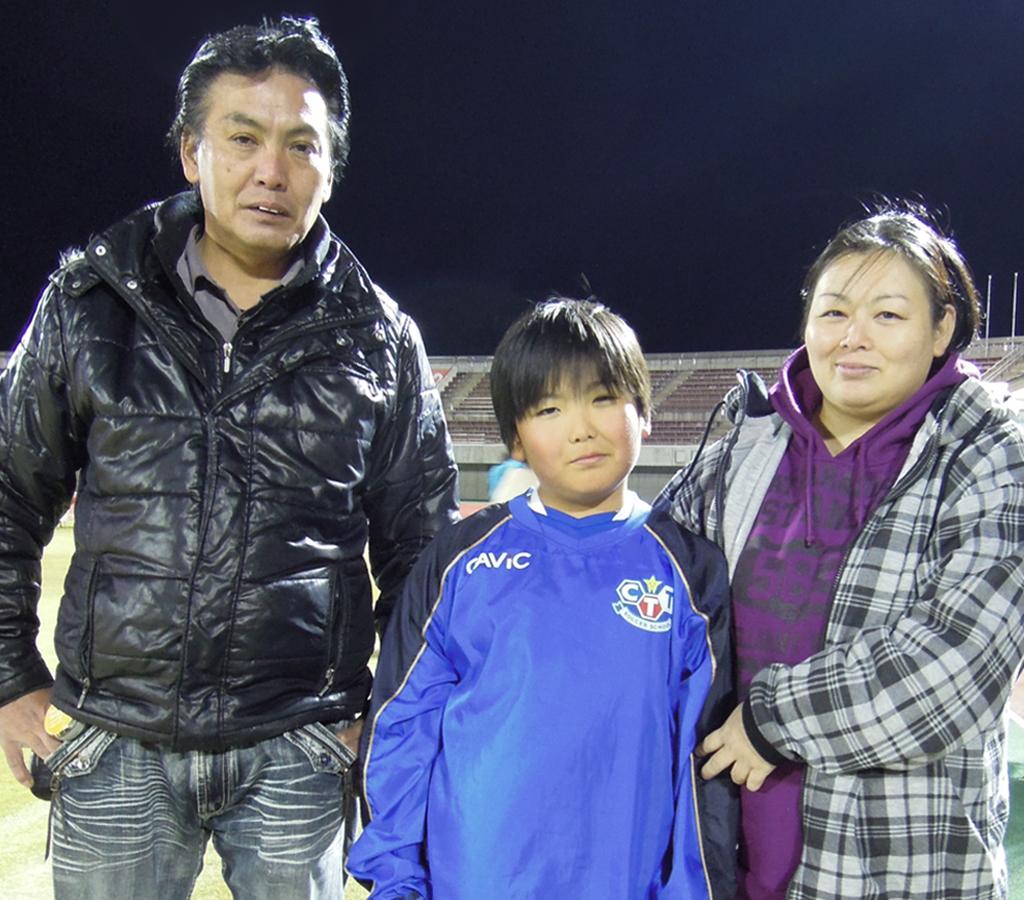 吉野 翔彩君(8歳)